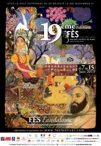 AFFICHE FES FESTIVAL 2013